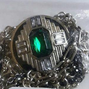 Jewelry - Art deco multi strand bracelet NWOT 7in.